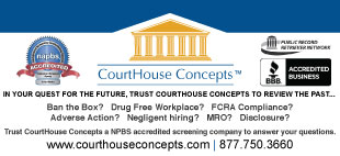In your quest for the future, trust CourtHouse Concepts to review the past...