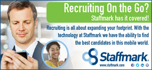 Recruiting is all about expanding your footprint. With the technology at Staffmark we have the ability to find the best candidates in this mobile world.