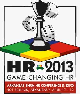 Arkansas SHRM HR Conference & Expo 2013 Logo, Game Changing HR