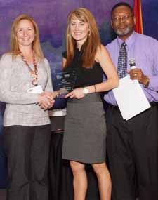 Jennifer Williams, 2012 Best HR Practice Award Recipient