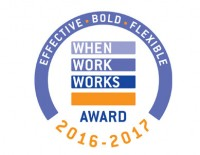 Applications open for the 2016-2017 When Work Works Award