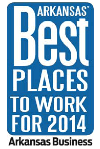 Arkansas' Best Places to Work logo