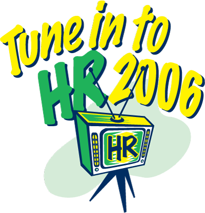 "HR2006 Logo: ""Tune in to HR2006"""