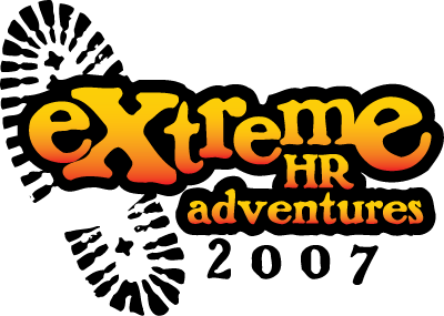"HR2007 Logo: ""Extreme HR Adventures"""