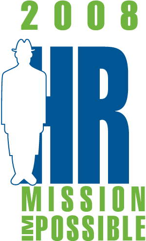 "HR2008 Logo: ""HR Mission Impossible"""