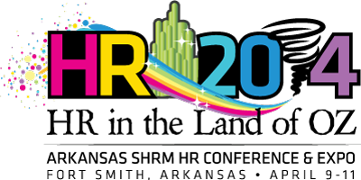 "HR2014 Logo: ""HR in the Land of Oz"""
