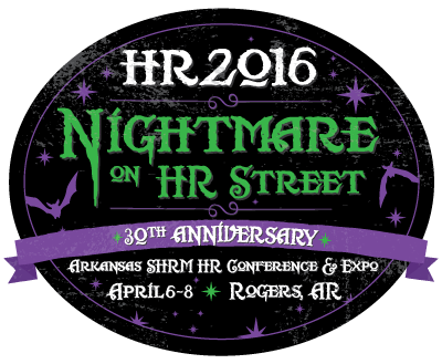 "HR2016 Logo: ""Nightmare on HR Street"""