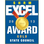 ARSHRM earned the SHRM Excel Gold award in 2013